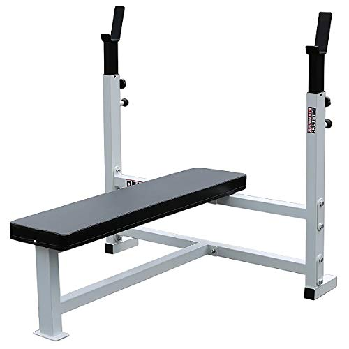 Deltech Fitness Flat Olympic Weight Bench Product Image