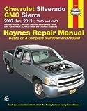 Haynes 24067 Chevy Silverado & GMC Sierra Repair Manual (2007-2013)