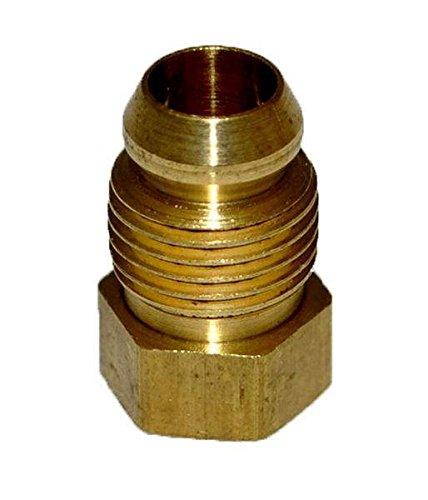 Hearth Products Controls (HPC Brass Male Breakaway Ferrule (433), 1/4-Inch