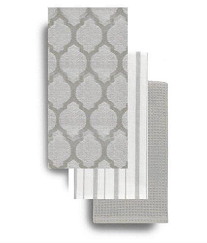Kitchen Towels Cotton Jacquard Waffle