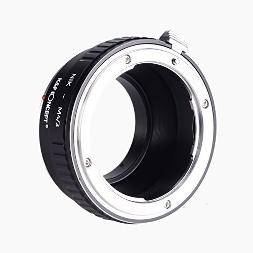 AI-M4//3 Adapter Ring,K/&F Concept Lens Mount Adapter For Nikon AI Lens to Olympus Pana sonic Micro 4//3 M4//3 Mount Adapter For GF1 GF2 GF3 G2 G3