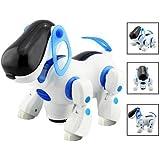 DcolorPerro Mascota Robotico Interactivo Caminar Juguete para Ninos