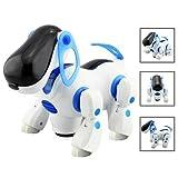 Dcolor Robotic Interactive Pet Dog Walking Bump Go Puppy Kids Toy Children