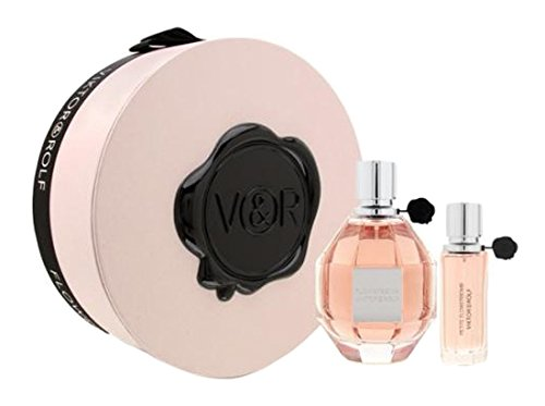 Flowerbomb by Viktor & Rolf for Women 2 Piece Set Includes: 3.4 oz Eau de Parfum Spray + 0.68 oz Eau de Parfum Spray
