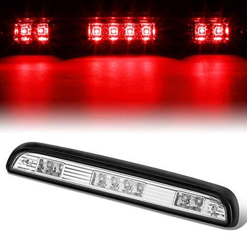 Full LED 3rd Third Tail Brake Light Rear Center Parking Lamp Chrome for 92-96 Ford F150/F250/F350/Bronco ()