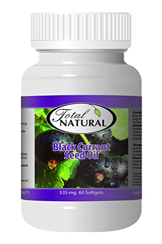 Black Currant Seed Oil 535mg 60s - [2 bottles] Immunity Improvement by Total Natural