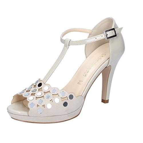Beige Vestir Para de OLGA RUBINI Zapatos Mujer Beige xwztCRq