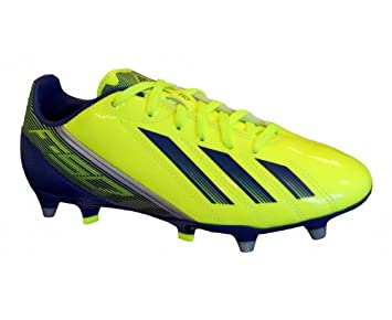 Adidas F10 TRX SG Junior Football Boots - Electric Yellow  Amazon.co ... 0f33cba01