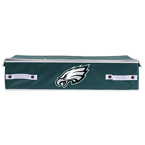 Franklin Sports NFL Philadelphia Eagles Under The Bed Storage Bins - Small