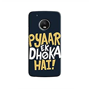 Cover It Up - Love Betrays Moto G5 Hard Case