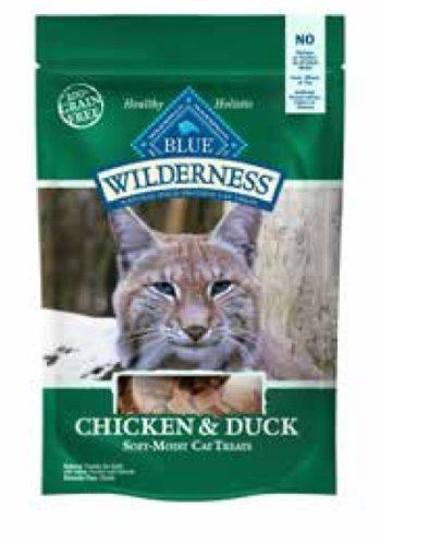 Blue Buffalo Blue Wilderness Chicken and Duck Cat Treats, 2 Ounces (6 Pack)