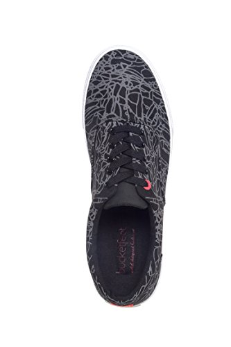 Bucketfeet Mens Jayson Atienza Duk Spets-up 11