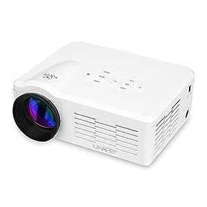 Uhappy BL35 - Mini Proyector LED Multimedia (800 Lumenes, LCD ...