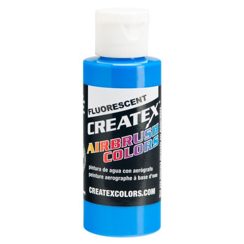 1 Gal. of Createx Fluorescent Blue #5503-GL CREATEX AIRBRUSH COLORS Hobby Craft Art PAINT by Createx
