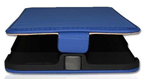 Premium Handy Case Tasche Flip für Apple iPhone 6 Plus / Handytasche Schutzhülle Schutztasche Blau