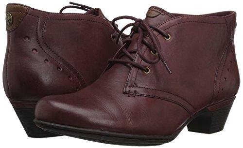 Leather Sneaker Merlot Sneaker Merlot Leather Merlot donna donna Rockport Rockport donna Rockport Sneaker wfBpRxqq