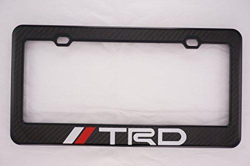 TRD Carbon Fiber License Plate Frame