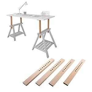 Amazon Com Diy Standing Desk Kit The Adjustable Hight