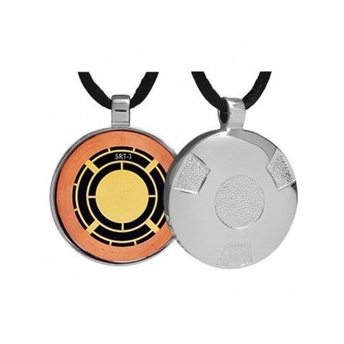 Q-Link SRT3 Is Circular Sterling Silver Polished Classic Pendant, Holistic Jewelry That Offers EMF Protection. Qlink Q.Link Q links Is a well Known electromagnetic chaos eliminator. Q-link works by balancing out the body's energetic fields.