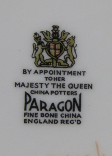 Paragon Bone China (Paragon CANADA COAT-OF-ARMS Cup and Saucer Set EXCELLENT)