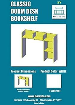 Amazon DormCo Classic Desk Bookshelf
