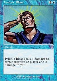 Magic: the Gathering - Psionic Blast - Timeshifted
