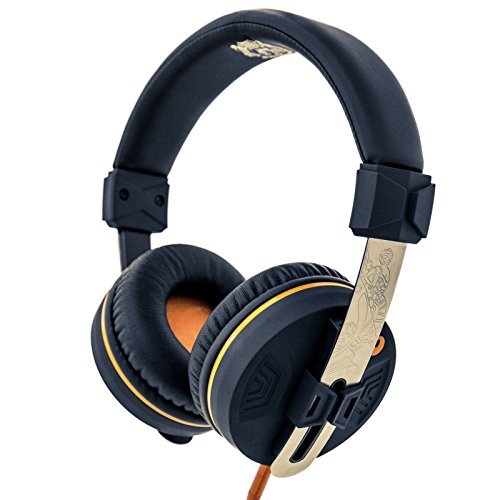 Orange 'O' Edition On-Ear Closed-Back Headphones