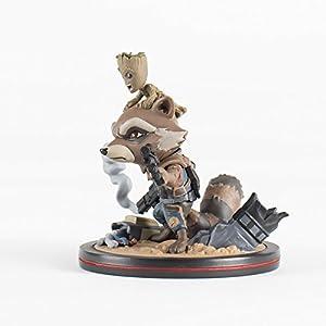 QMx Rocket & Groot Q-Fig Diorama