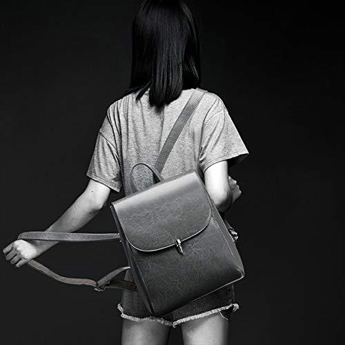 Zaino Zaino Viaggio Di Di Capienza Da Donna Per Estate Grande WDBAO Ed Primavera Black Moda Coreana 7AFqYq8d