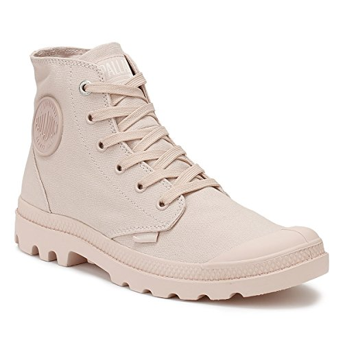 Palladium Pampa Hi Mono Chrome Mixte, Baskets Hautes Femme Peach / Whip