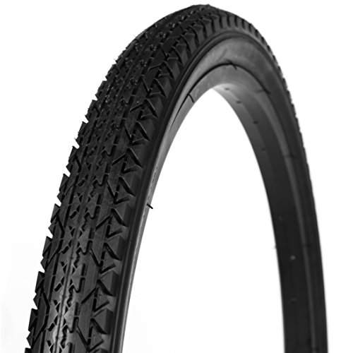 WANDA Beach Cruiser Bicycle Tire, Black, 26