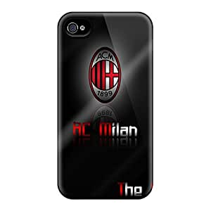 Excellent Hard Phone Covers For Iphone 6plus With Support Your Personal Customized HD Ac Milan Series AaronBlanchette
