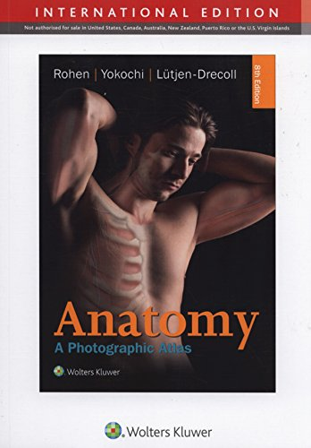 COLOR ATLAS OF ANATOMY 8E (INT ED) CB