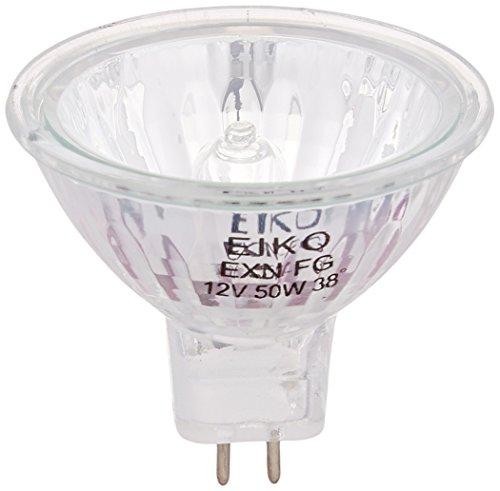 Eiko EXN-FG 38 Degree Flood MR16 GU5.3 Base Halogen Bulb, 12V/50W