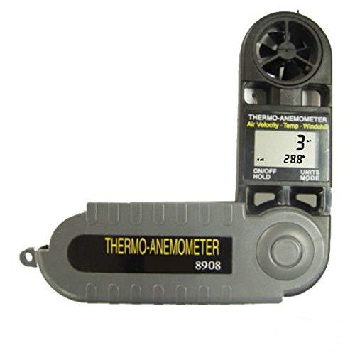 AZ8908 - Anemometro digitale tascabile