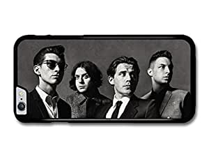 "AMAF ? Accessories Arctic Monkeys Rock Band Black & White Portrait case for iPhone 6 Plus (5.5"")"