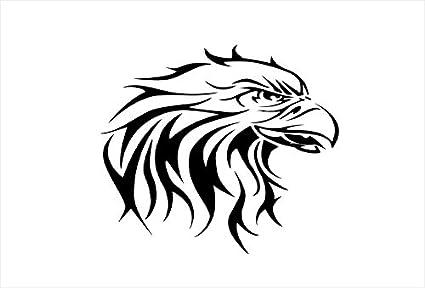 GOStickIT American Eagle Head Vinyl Decal 19quot X 21quot