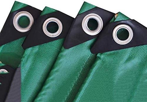 車、木材、ボート、ガーデン、キャンプ、アウトドア2 X2mを保護するヘビーデューティ多目的防水ポリターポリンPEタープ裏庭のテラスカバーUV耐性Backyaldカバー (Color : Green, Size : 4 x4 m)