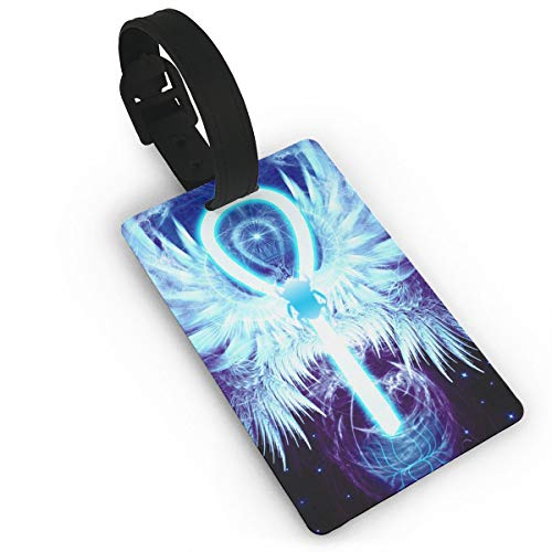 Sheery Indian Symbol Luggage Tags Business Card Holder Travel ID Bag Tag