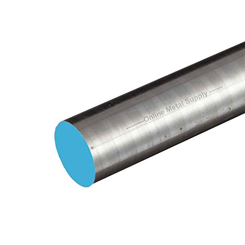- Online Metal Supply 4130 Steel Round Rod, Diameter: 1.375 (1-3/8 inch), Length: 12 inches