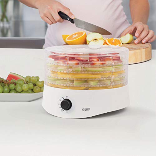 Commercial Chef CCD100W6 Compact Dehydrator