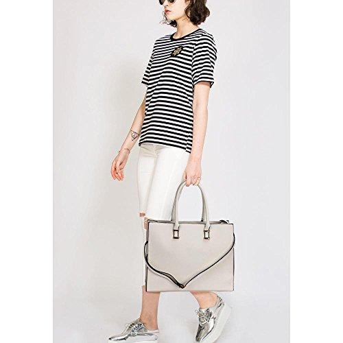 ANNA GRACE - bolso Para mujer gris