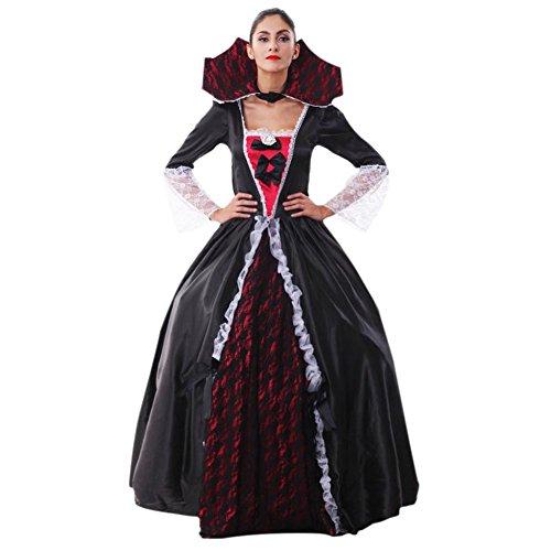 Plus Size Halloween Customes (Henghzhi Halloween Costumes Vampire halloween Dress Halloween Costumes Witch for Girls Halloween Costume for Women Halloween Deor)
