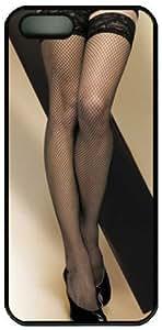 Black Stocking Sexy Legs Design Iphone 4 4S Case