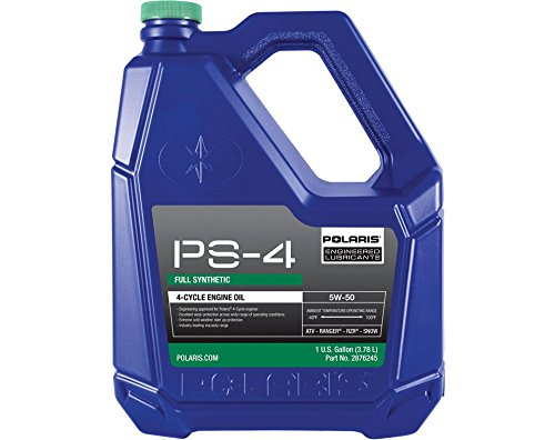 Polaris Factory ATV & Snowmobile 4-Cycle PS4 Plus Synthetic Oil Gallon 2876245 by Polaris