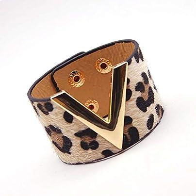 ZUOZUO Leather Wristband Leather Bracelet Simple Full Matching Word Width Women S Wrap Bracelet Wristband Estimated Price £18.99 -