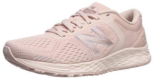 (New Balance Women's Arishi V2 Fresh Foam Running Shoe, Oyster Pink Mist Midsole, 7.5 B US)