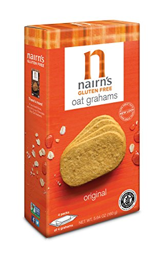 - Nairn's Gluten Free Oat Grahams, Original, 5.64oz
