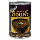 AMY'S ORGANIC SOUP BLACK BEAN VEGETABLE 14.5 OZ