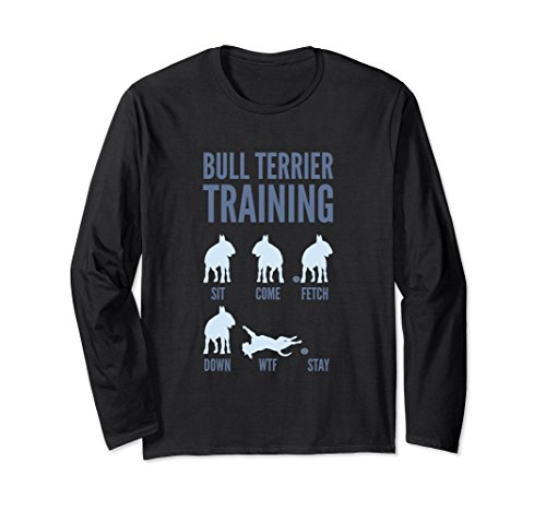 Unisex English Bull Terrier Shirt XL: Black